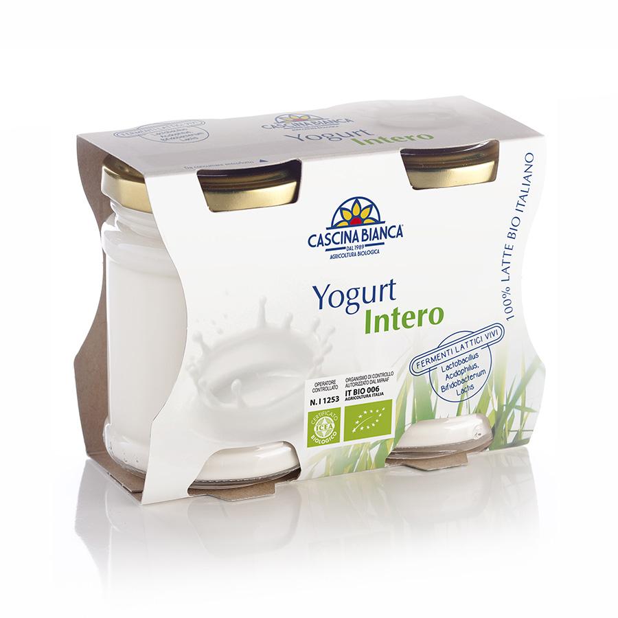 CascinaBianca Yogurt Intero Biologico 250g