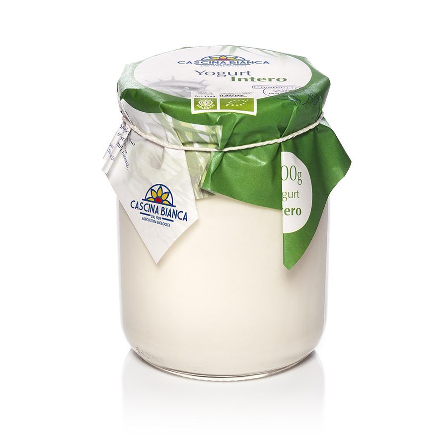 CascinaBianca Yogurt Intero Biologico 500g