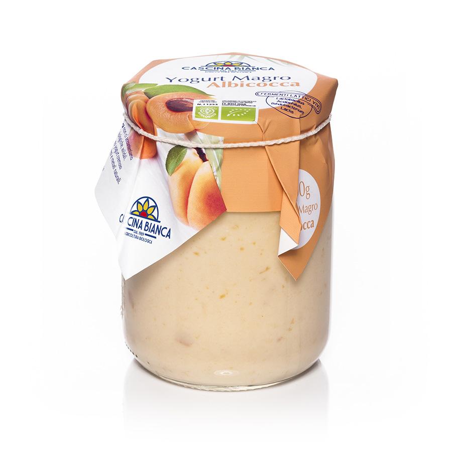 CascinaBianca Yogurt Magro Biologico 500g Albicocca
