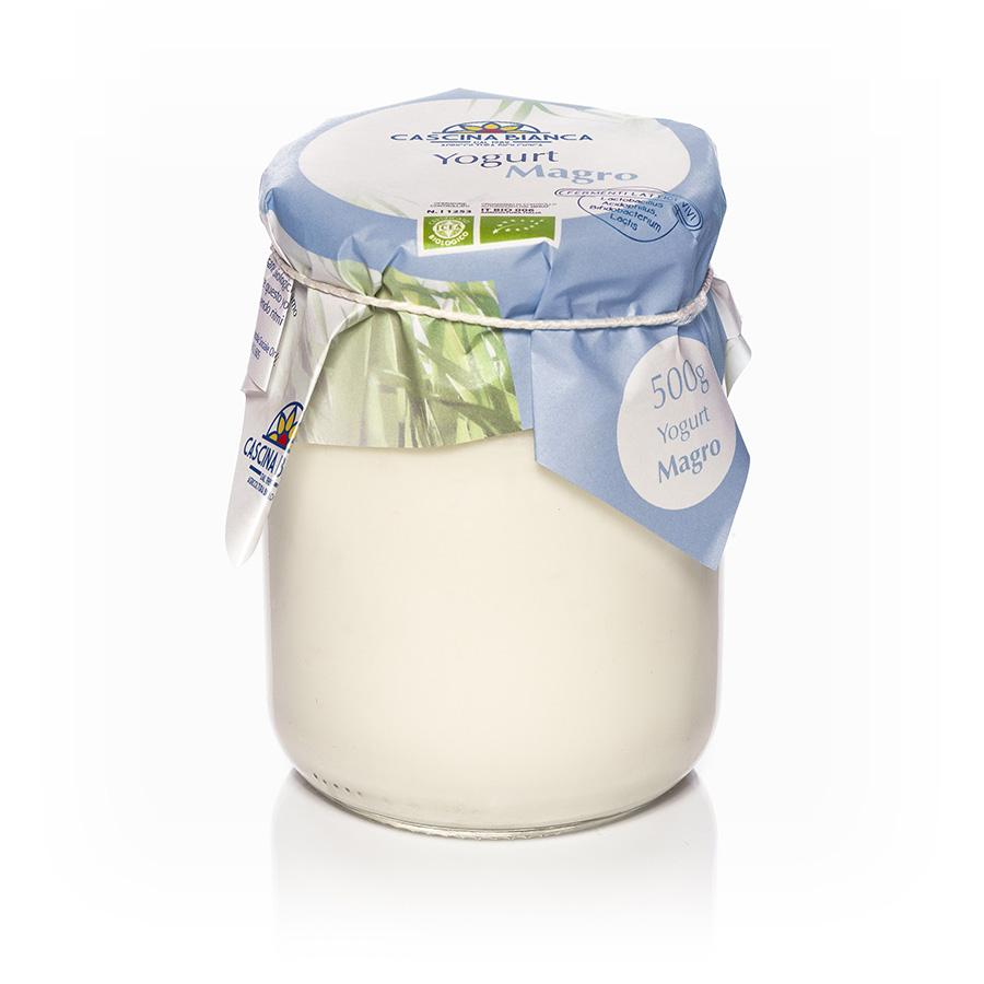 CascinaBianca Yogurt Magro Biologico 500g