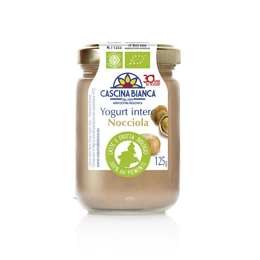 CascinaBianca Piemonte 125g Yogurt intero nocciola web