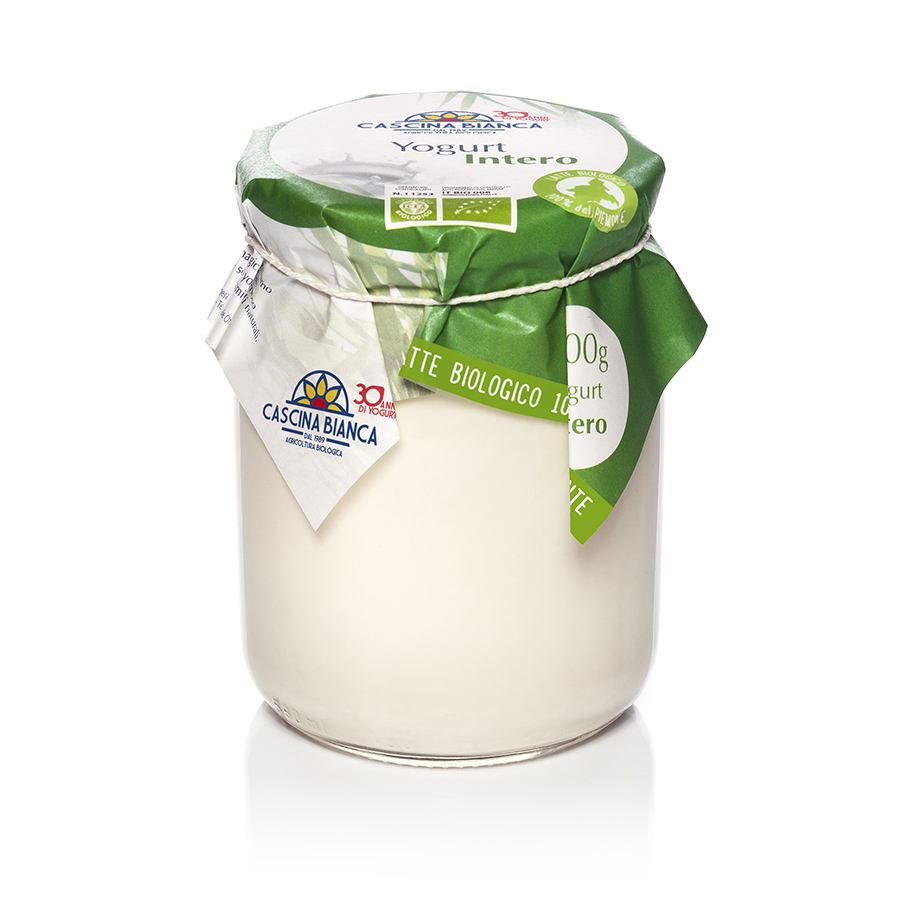 CascinaBianca Piemonte Yogurt Intero Biologico 500g