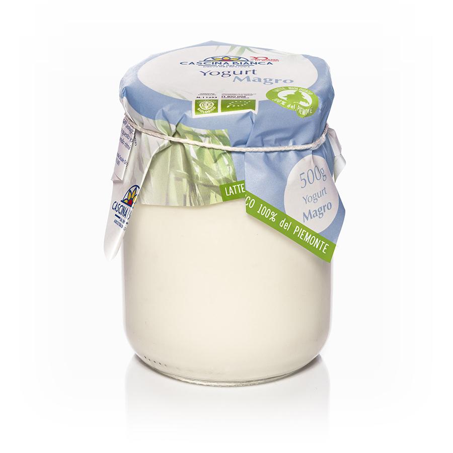 CascinaBianca Piemonte Yogurt Magro Biologico 500g