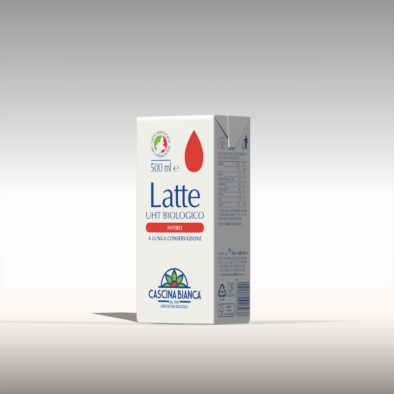CascinaBianca latte Intero 500ml (1)